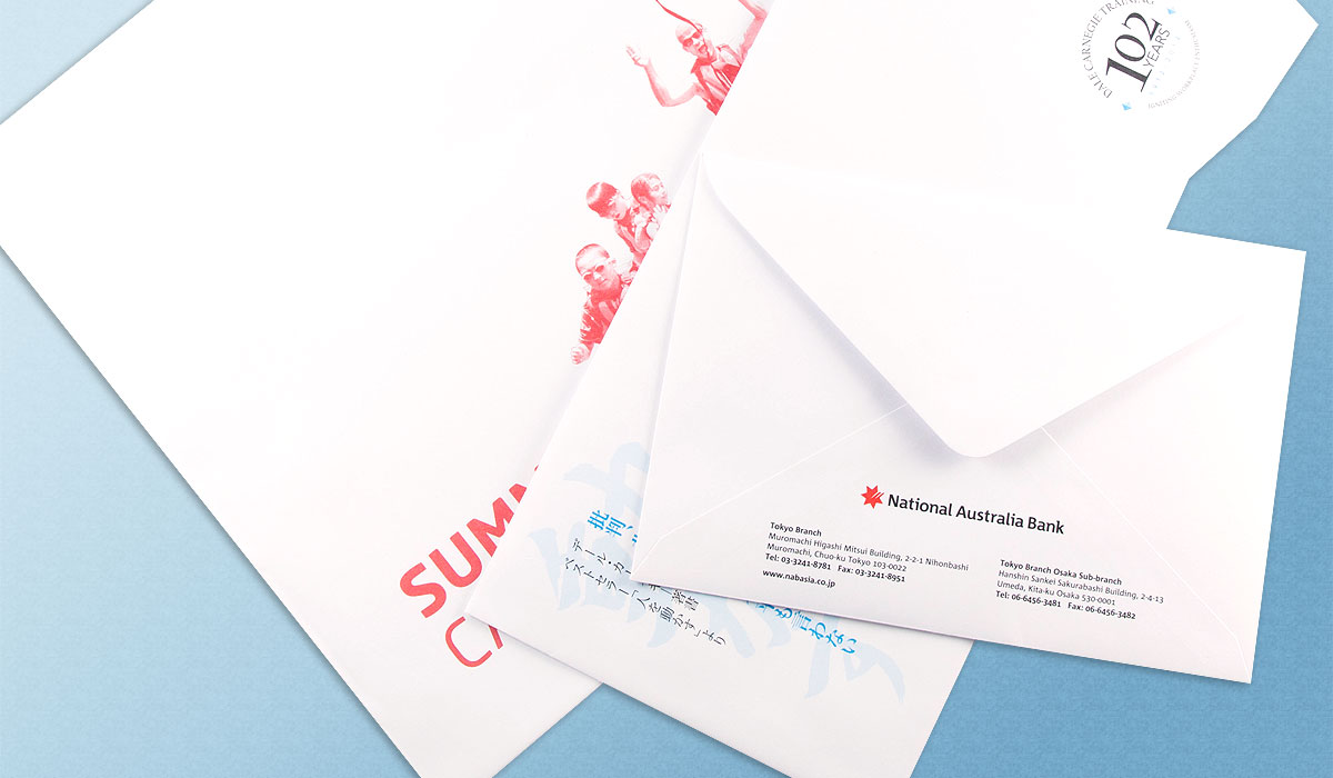 Envelope Printing In Corona, A Convenient Way To Advertise Yourself
